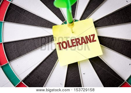 Tolerance (in German)