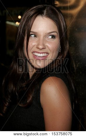 Sophia Bush at the Los Angeles premiere of 'The Texas Chainsaw Massacre: The Beginning' held at the Grauman's Chinese Theater in Hollywood, USA on October 5, 2006.
