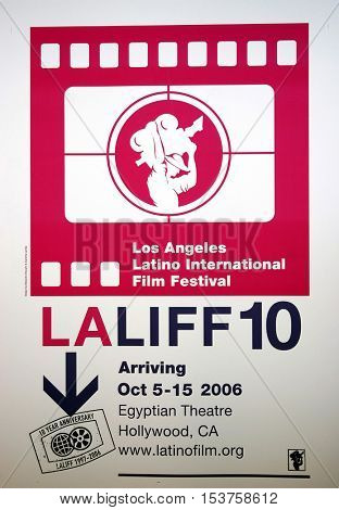 LALIFF screening of 'Chagas: A Hidden Affliction' held at the Egyptian Arena Theatre in Hollywood, USA on October 7, 2006.