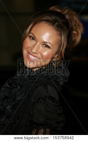 Svetlana Metkina at the Los Angeles premiere of 'Man of the Year' held at the Grauman's Chinese Theater in Hollywood, USA on October 4, 2006.