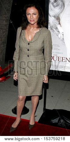 Jacqueline Bisset at the Los Angeles premiere of 'The Queen' held at the Academy of Motion Picture Arts and Sciences in Beverly Hills, USA on October 3, 2006.
