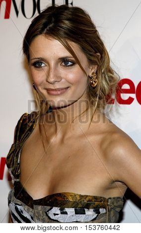 Mischa Barton at the Teen Vogue Young Hollywood Issue Party held at the Sunset Tower in West Hollywood, USA on September 20, 2006.