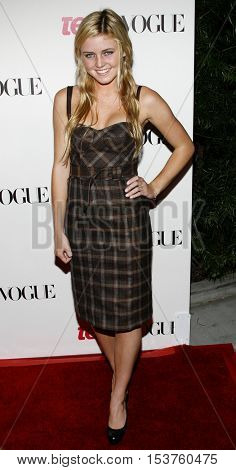 Lorraine Nicholson at the Teen Vogue Young Hollywood Issue Party held at the Sunset Tower in West Hollywood, USA on September 20, 2006.