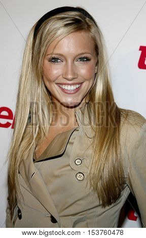 Katie Cassidy at the Teen Vogue Young Hollywood Issue Party held at the Sunset Tower in West Hollywood, USA on September 20, 2006.