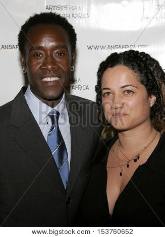 Don Cheadle at the Archbishop Desmond Tutu's 75th Birthday Party held at the Regent Beverly Wilshire Hotel in Beverly Hills, USA on September 18, 2006.