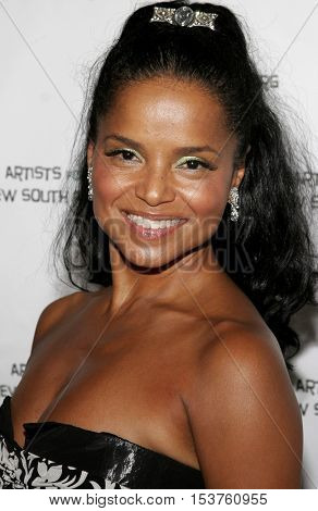 Victoria Rowell at the Archbishop Desmond Tutu's 75th Birthday Party held at the Regent Beverly Wilshire Hotel in Beverly Hills, USA on September 18, 2006.