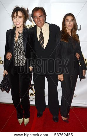 LOS ANGELES - OCT 25:  Lauren Koslow, Thaao Penghlis, Kristian Alfonso at the Hollywood Walk of Fame Honors at Taglyan Complex on October 25, 2016 in Los Angeles, CA