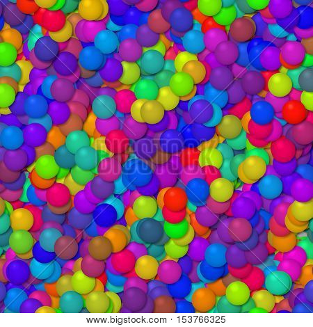 Many colorful funny little baloons party background texture