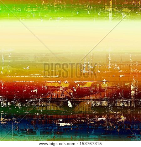 Grunge antique frame, vintage style background. With different color patterns: yellow (beige); brown; green; blue; red (orange); pink