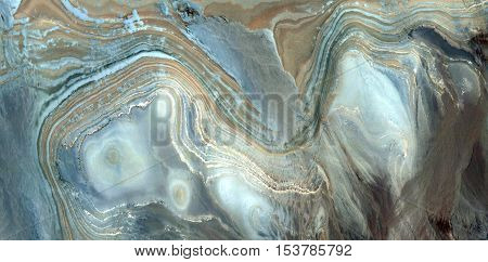 Abstract photography of landscapes of deserts of Africa from the air