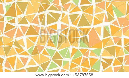 Abstract Biege Brown Green Earthtones Gradient Lowploly Of Many Triangles Background For Use In Desi