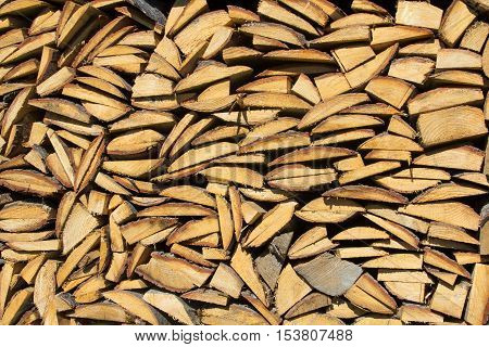 closeup of a firewood texture fob background