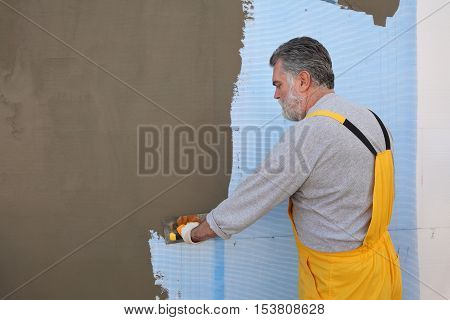 House Renovation, Polystyrene Wall Insulation