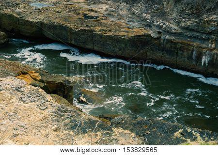 Tasmania Blowhole In Port Arthur