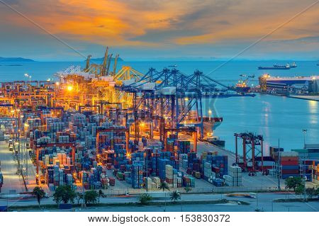 Industrial Container Cargo freight ship for Logistic Import