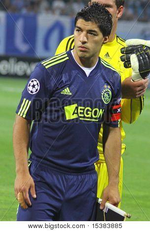 Luis Suarez von Ajax Amsterdam