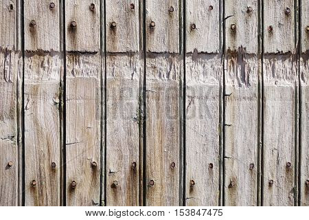 Old rough wood board background texture. Architecture detail