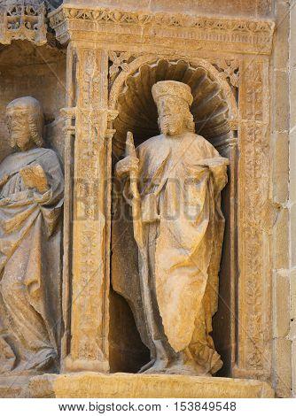 Saint James The Greater At The Saint Thomas Church Of Haro, La Rioja