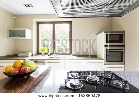 Close-up Of The Kitchen Worktop