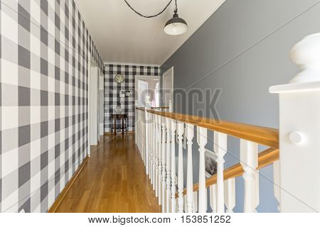 Home Corridor In Cottage Style