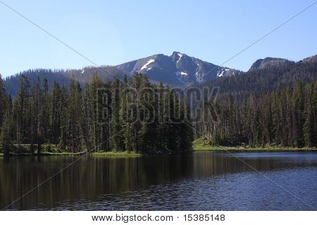 Lake and Mountain