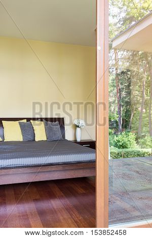 Bedroom With The Patio Entry