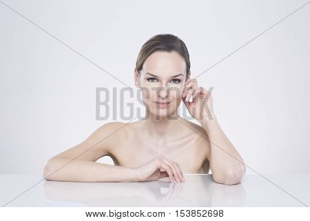 Woman With Intriguing Look