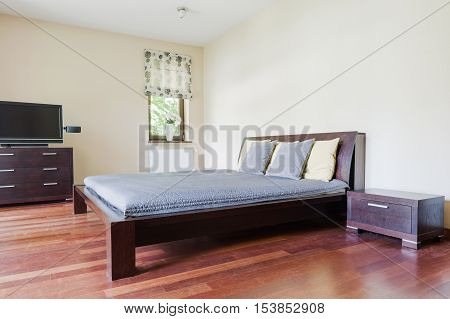 Bedroom With Marital Bed