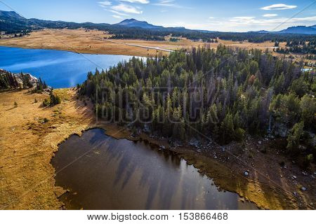 Shoshone National Forest Aerial