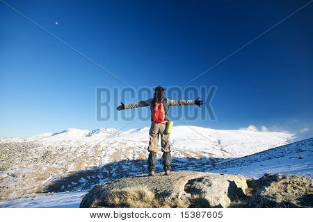 Embracing Snow Mountains