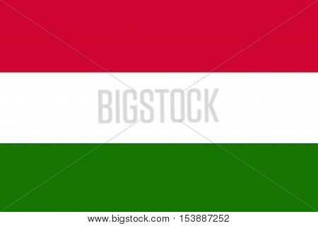 Hungary flag ,Hungary national flag illustration symbol.
