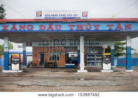 Petrol Station Central Vietnam