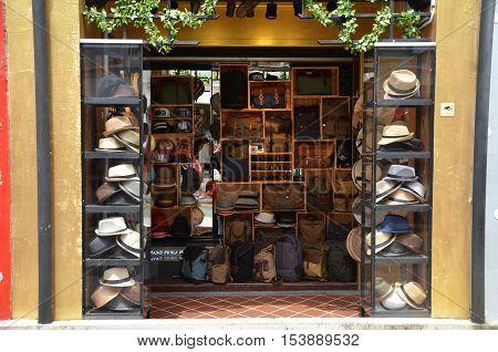 Fashion Shop Located In Haji Lane