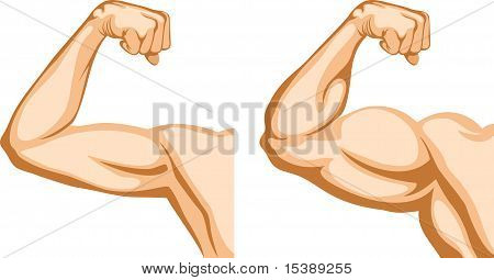 Hand Before And After Fitness