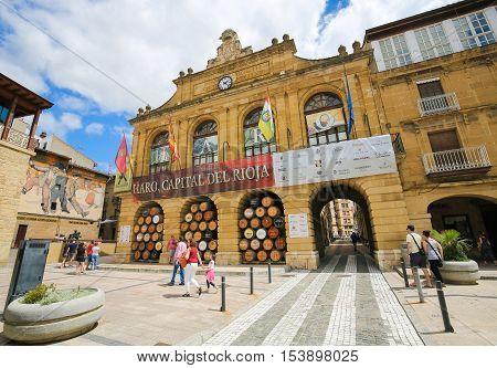 Center Of Haro In La Rioja, Spain