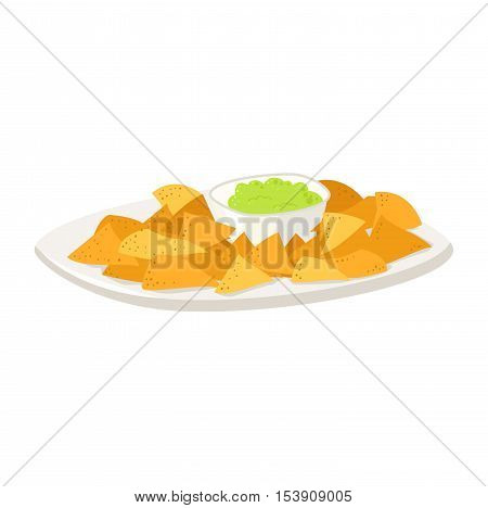 Cereals plate bowl of oat flake isolated on white background. Cold cereal isolated on white background. Detailed vector icon. Food cereals plate organic corn fresh tasty ingredients for cooking.