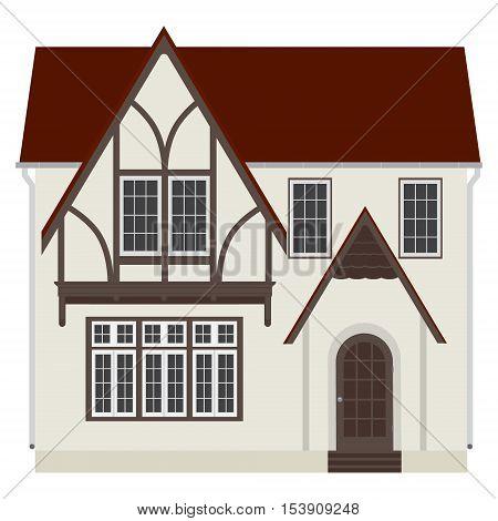 German House Vector