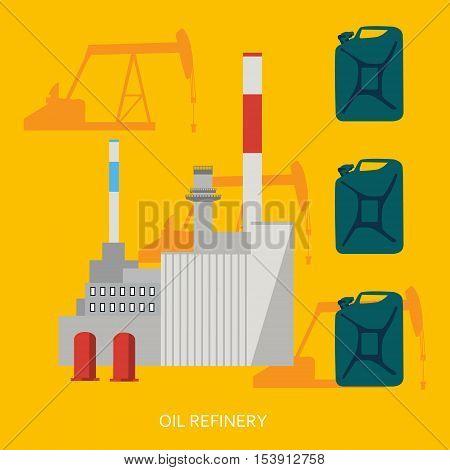Oil Refinery Concept