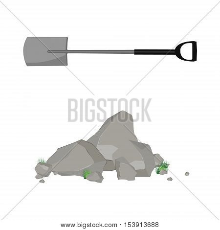 Rockl, Stones And Shovel