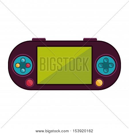 remote control for games with screen vector illustration