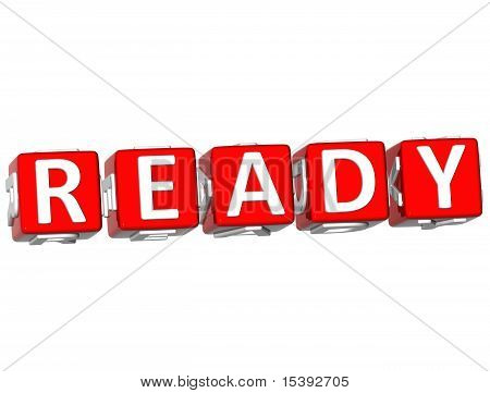 Ready Cube Text