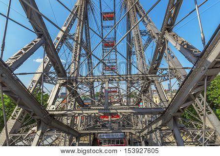 Ferris Wheel In Vienna.