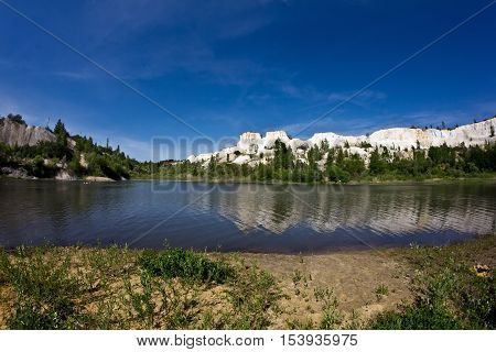 Lake in Voronezh Grand Canyon
