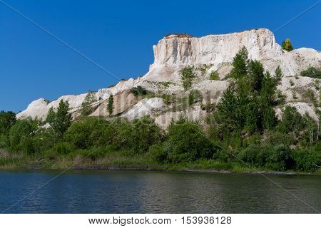 Cliff in Voronezh Grand Canyon