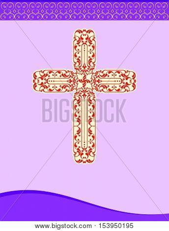 Christian Cross Vector Art