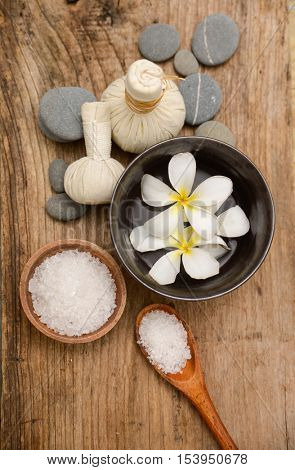 Spa setting for aroma therapy