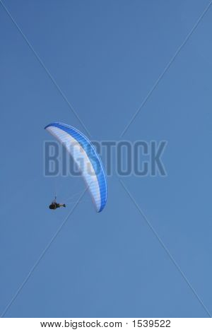 Paraglide - Blue Canopy 2