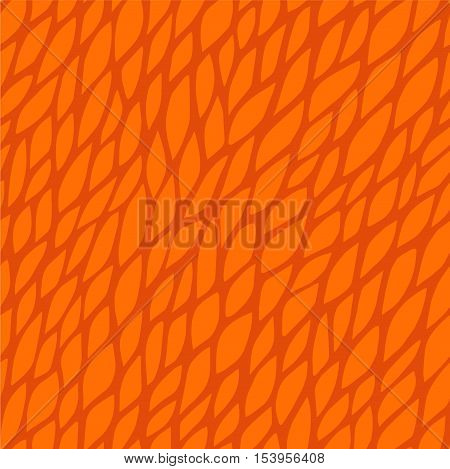 Vector seamless pattern for background. Repeating vector abstract background. Abstract orange floral pattern. Seamless orange abstract square pattern. Vector repeating seamless pink texture. Orange pattern