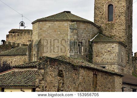 Church of Santa María del Castillo, Buitrago de Lozoya. XIV-XV centuries. Gothic style, renovated in the '80s.