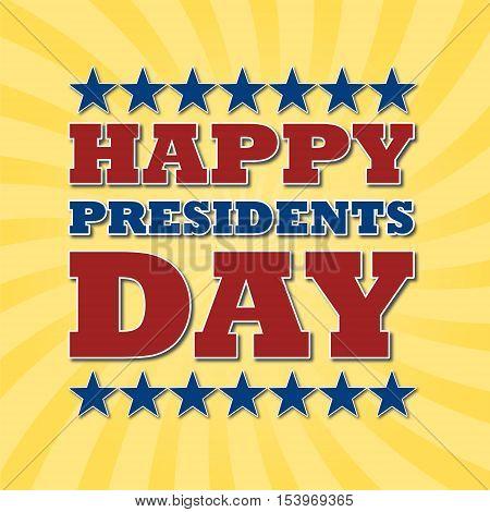 Presidents Day EPS 10 vector stock illustration